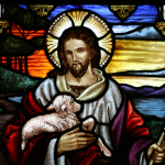 Messiah stained glass