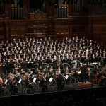 Melbourne Town Hall Choir, Orchestra, Organ, stage